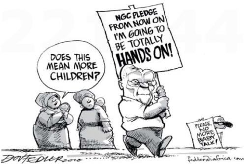 'Hands on Zuma': Africartoons.com