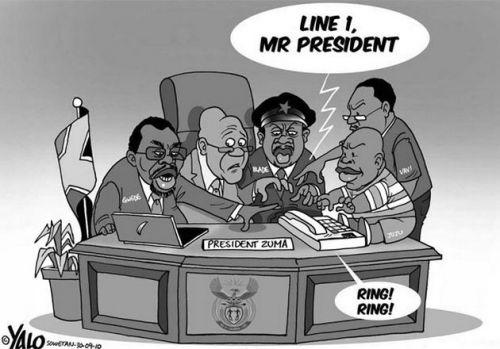 'Presidential hotline': Africartoons.com