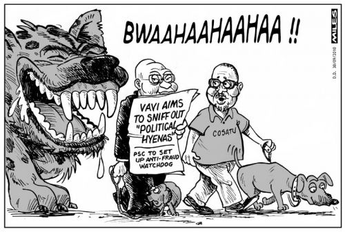 'He Who Laughs Loudest?': Africartoons.com
