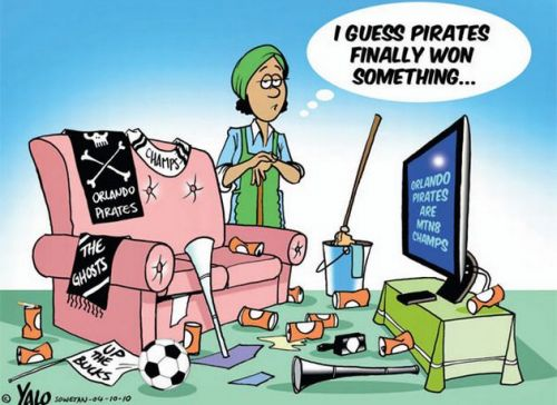 'Pirates Capture Trophy': Africartoons.com