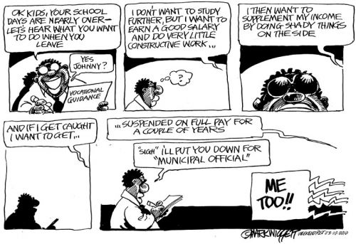 'A matriculant's dream job': Africartoons.com