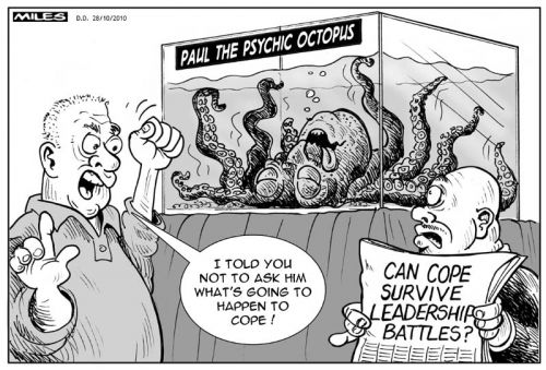 'Paul the Octopus and COPE': Africartoons.com
