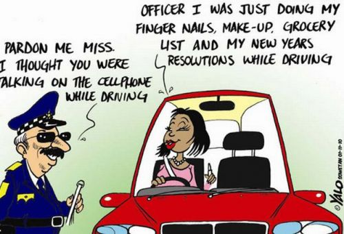 'Driving Violations': Africartoons.com