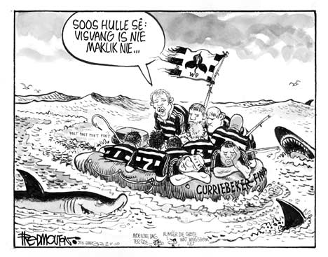'WP Adrift in the Currie Cup Final': Africartoons.com