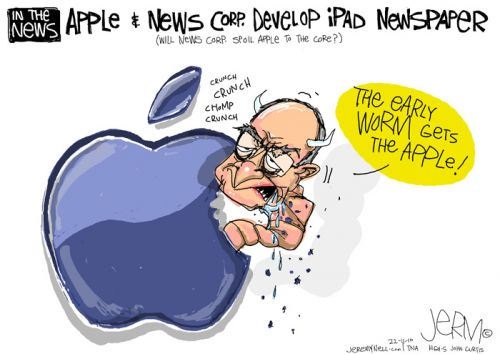 'An Apple for Murdoch': Africartoons.com