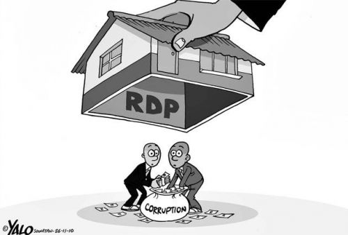 'RDP Corruption': Africartoons.com