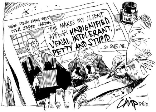 'The Indignant Truth': Africartoons.com