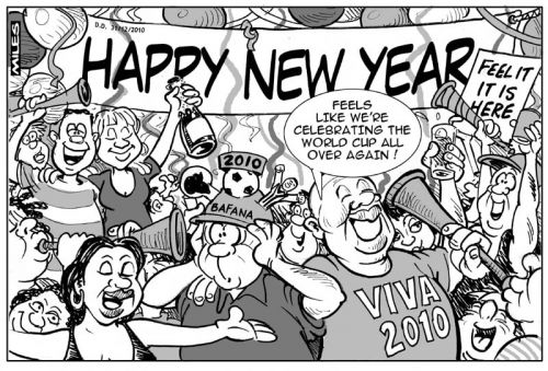 'Long Live the Spirit of 2010': Africartoons.com