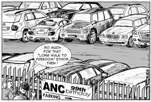 'ANC Turns 99': Africartoons.com