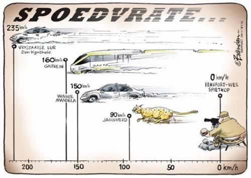 'Life in the Fast Lane': Africartoons.com