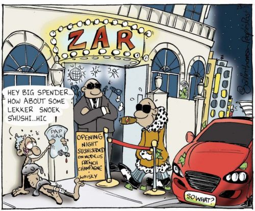 'The Tzar of Seapoint': Africartoons.com