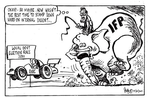 'IFP infighting': Africartoons.com