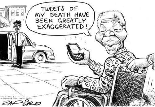 'Exagerated Tweets': Africartoons.com