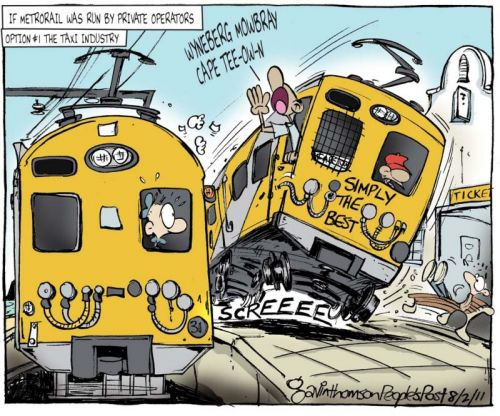 'Off the Rails': Africartoons.com