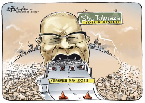 'Democratic Tolls': Africartoons.com