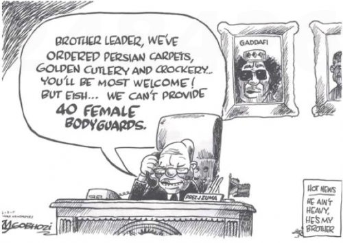 'Big Brother Leader to Retire in SA?': Africartoons.com