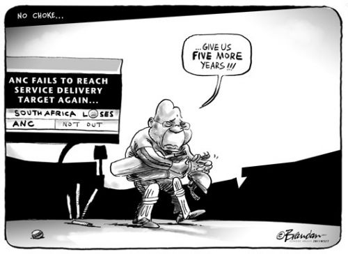'Five More Years to Deliver': Africartoons.com