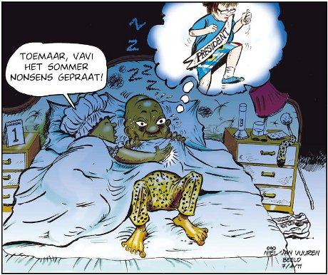 'President Zille': Africartoons.com