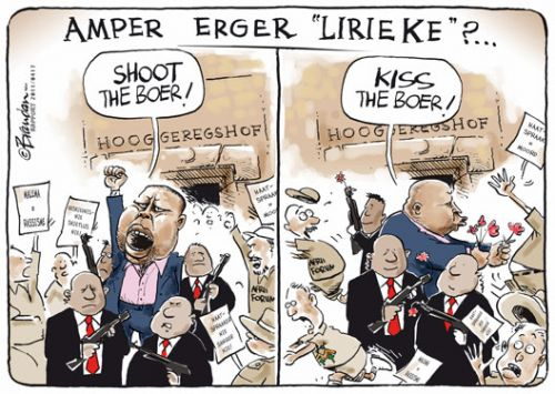 "'What Could Be Worse than ""Shoot the Boer?""': Africartoons.com"