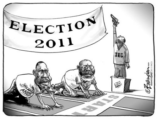 'ANC Values line up against one another': Africartoons.com