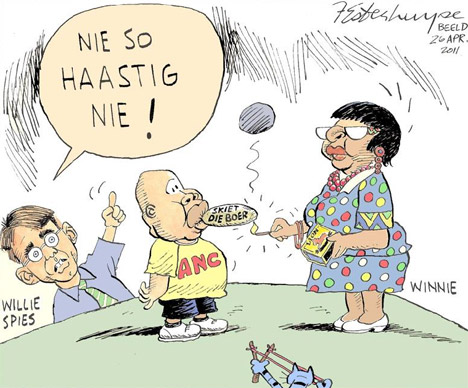 'Not So Fast Winnie!': Africartoons.com