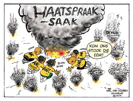 'Stoking Hate Speech': Africartoons.com