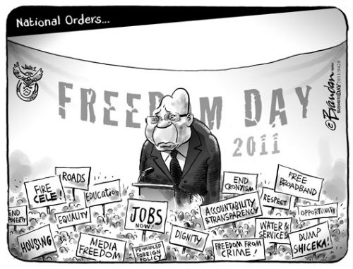 'Free Everything': Africartoons.com
