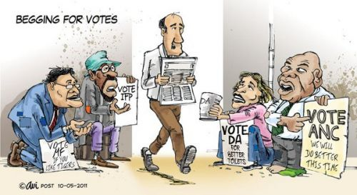 'Begging For Votes': Africartoons.com