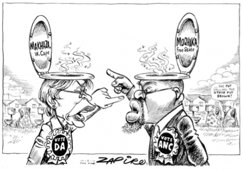 'Creating A Stink': Africartoons.com