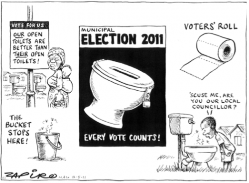 'The Toilet Elections': Africartoons.com