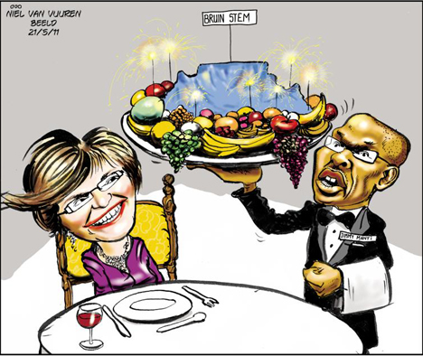'Cape on a Platter': Africartoons.com