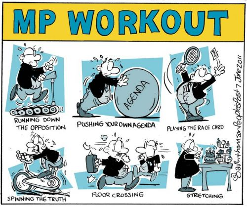 'MP Exercises ': Africartoons.com