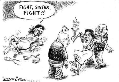 'The Rape of Free Speech': Africartoons.com