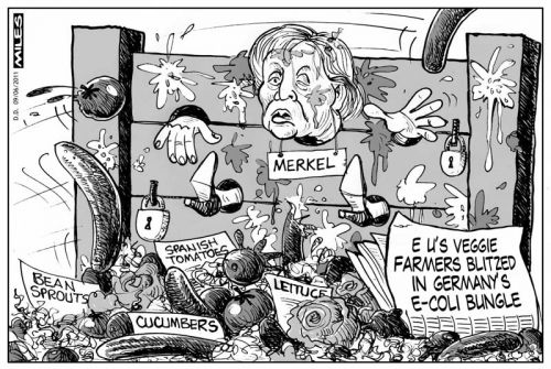'Vegetable Stocks': Africartoons.com