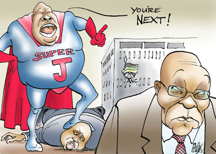 'Super Julius': Africartoons.com