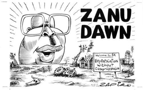 'Zanufication a la Malema': Africartoons.com
