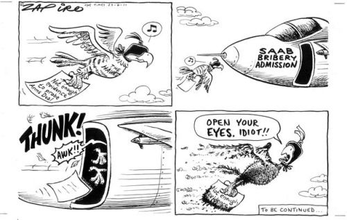 'Flying Blind': Africartoons.com