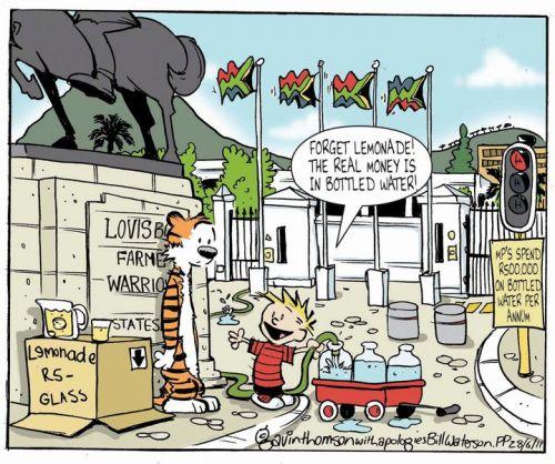 'Politics is Thirsty Work!': Africartoons.com