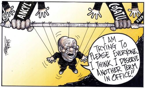 'Presidential Puppet': Africartoons.com