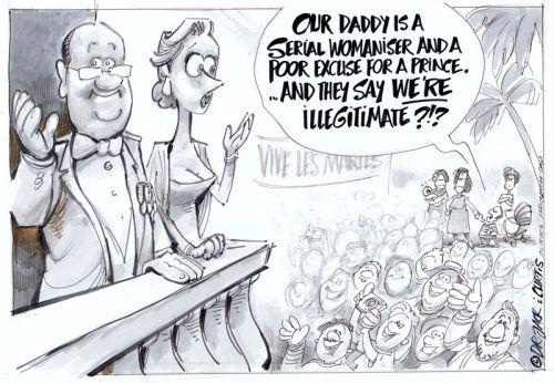 'The Illegitimate Prince': Africartoons.com