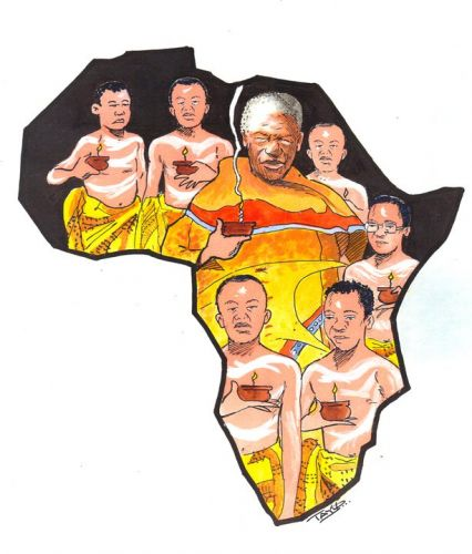 'A Great Man of Africa': Africartoons.com