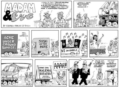 'There Goes The Neighbourhood': Africartoons.com