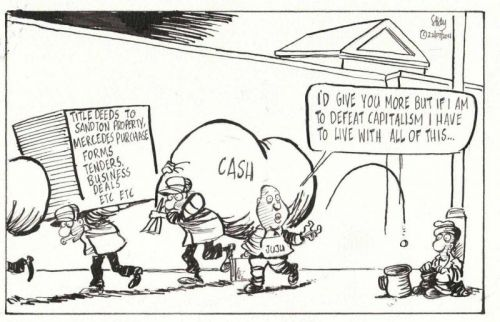 'Juju's Five Cents Worth': Africartoons.com