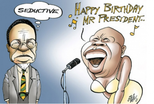 'The Praise Singer': Africartoons.com