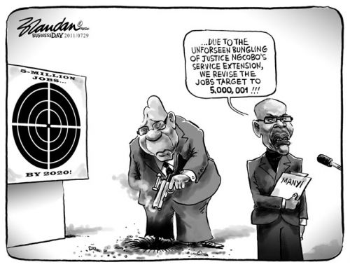 '5 Million Jobs plus a Chief Justice': Africartoons.com