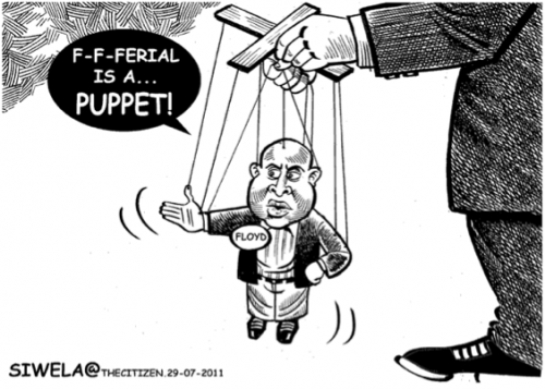 'One Puppet to Another ': Africartoons.com