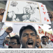 Dr Jack Cartoon used in Indian Anticorruption Protest