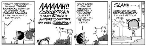 'An End to Corruption?': Africartoons.com