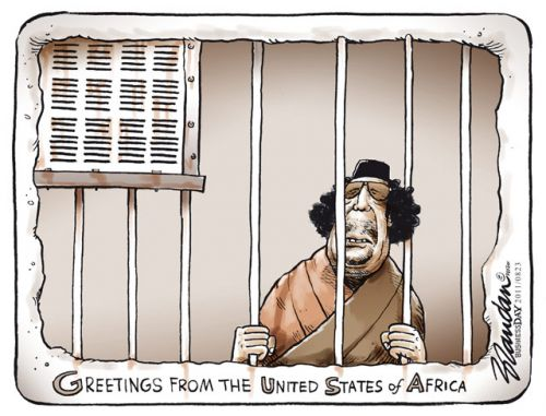 'Greetings from the United States of Africa': Africartoons.com