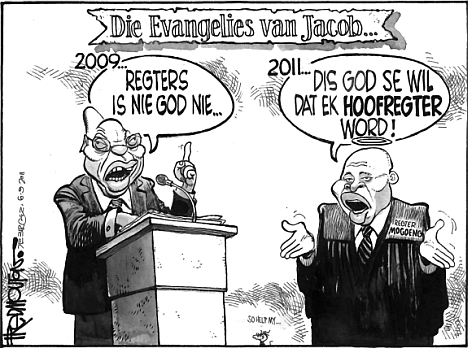 'Gospel According to Jacob': Africartoons.com